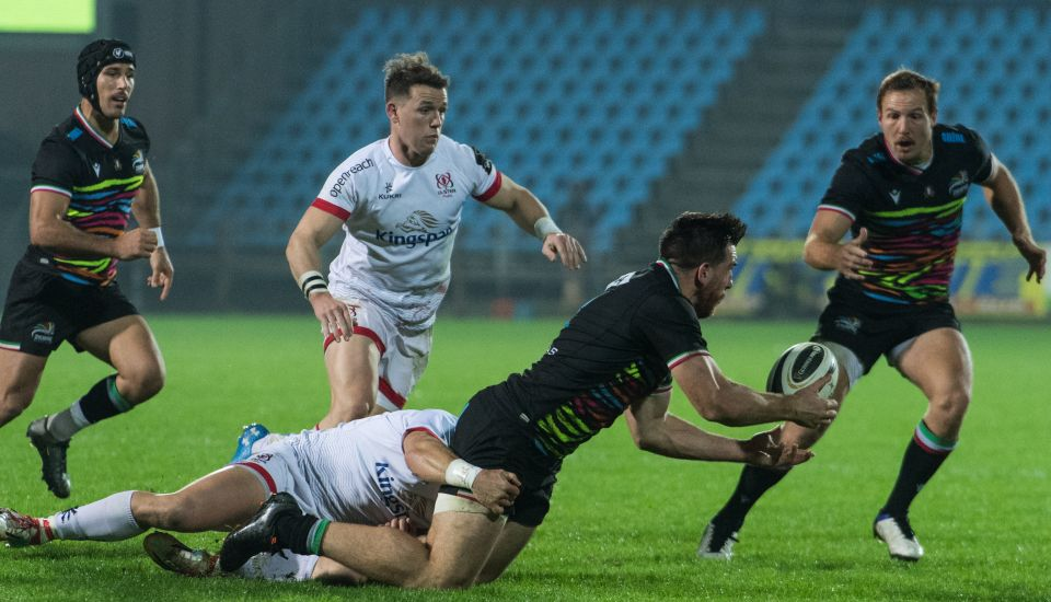 zebre ulster rugby lucchin